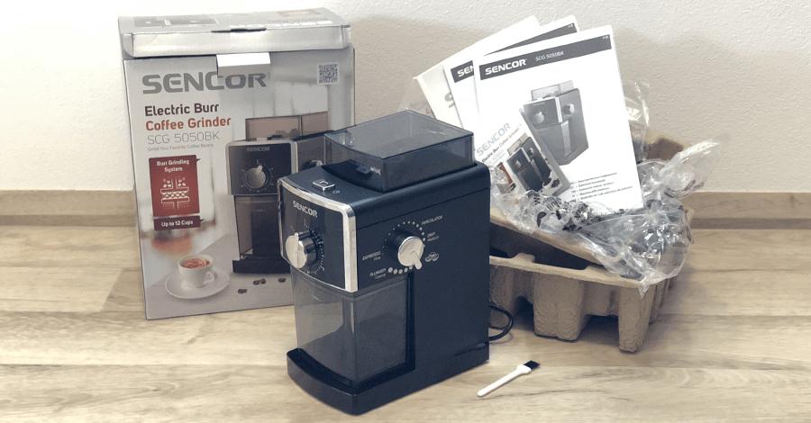 Sencor SCG 5050BK obsah balenia