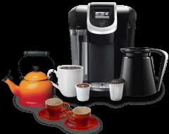 Typy kávovarov